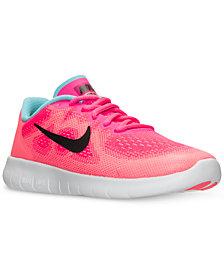 Nike Little Girls' Free Run 2 Running Sneakers from Finish Line