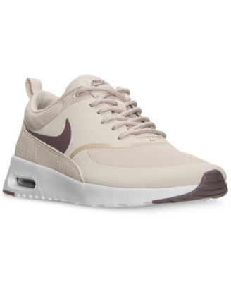 nike womens air max thea running shoe white closed