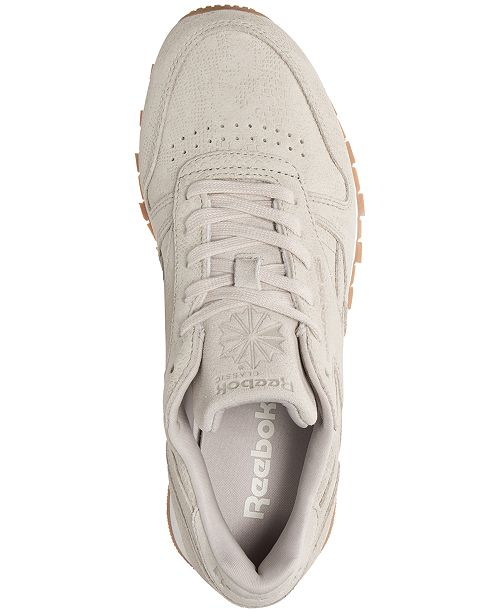 ... Reebok Women s Classic Leather Exotic Casual Sneakers from Finish ... 80ec4adcf