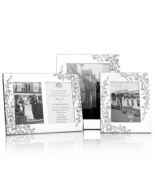 Martha Stewart Collection Picture Frames, Silver Plated Trousseau ...