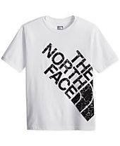 The North Face Graphic-Print Cotton T-Shirt, Big Boys (8-20)