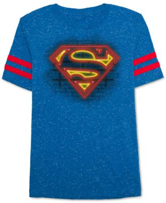 Image of DC Comics Superman Graphic-Print T-Shirt, Big Boys (8-20)