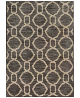 "CLOSEOUT!  Brookside Aso Charcoal 3'3"" x 5'5"" Area Rug"
