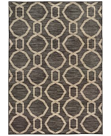 """CLOSEOUT! JHB Design  Brookside Aso Charcoal 6'7"""" x 9'6"""" Area Rug"""