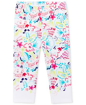 First Impressions Tropical-Print Leggings, Baby Girls (0-24 months), Only at Macy's