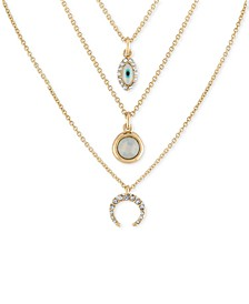 Gold-Tone 3-Pc. Set Pendant Necklaces