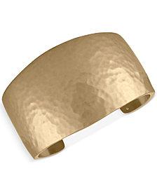 RACHEL Rachel Roy Gold-Tone Hidden Inspiration Cuff Bracelet