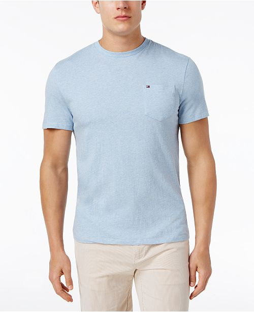 e8d3b369d ... Tommy Hilfiger Men's Tommy Crew Neck Pocket T-Shirt, Created for Macy's  ...