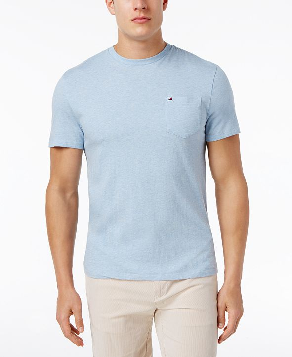 Tommy Hilfiger Men's Tommy Crew Neck Pocket T-Shirt