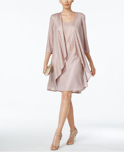 3fa2f4eb9af8e R   M Richards Shift Dress and Draped Jacket   Reviews - Dresses ...