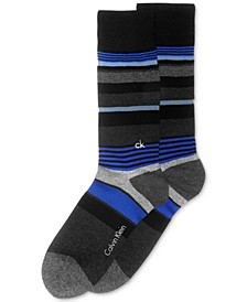Men's Multi-Stripe Crew Socks