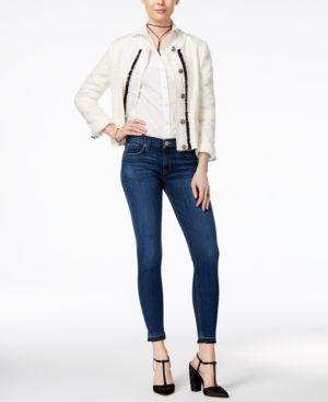 Hudson Jeans Krista Raw-Hem Super Skinny Jeans 4462633