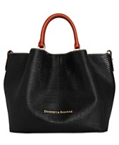 cd501616b292 Dooney & Bourke Large Barlow Embossed Leather Tote, Created for Macy's