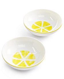 kate spade new york With A Twist 2-Pc. Bowl Set, Created for Macy's