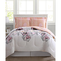Pem America Meghan Reversible 3-Pc. Full/Queen Comforter Mini Set