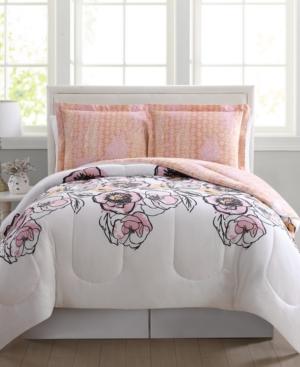 Meghan Reversible 3-Pc. Full/Queen Comforter Mini Set