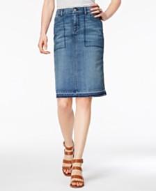 womens denim skirts - Shop for and Buy womens denim skirts Online ...