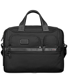 Tumi Men's Expandable Organizer Computer Briefcase