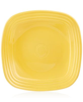 Sunflower Square Dinner Plate
