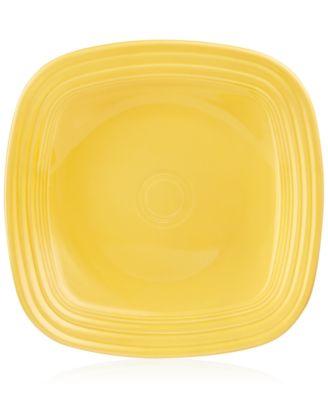 Fiesta Sunflower Square Di.  sc 1 st  Macyu0027s & Fiesta Daffodil Square Dinner Plate - Dinnerware - Dining ...