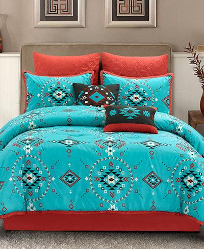 CLOSEOUT! Tobi 8-Pc. Queen Comforter Set