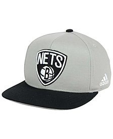 adidas Boys' Brooklyn Nets XL 2-Color Snapback Cap