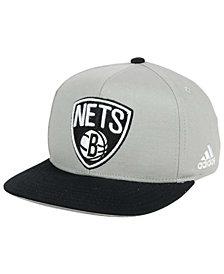 adidas Boys' Brooklyn Nets XL 2-Color Snapback Cap