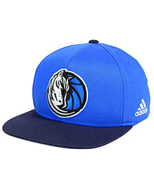 adidas Boys' Dallas Mavericks XL 2-Color Snapback Cap