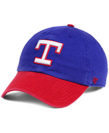 '47 Brand Texas Rangers Cooperstown CLEAN UP Cap