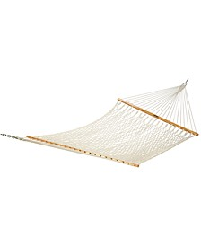 Single Original Cotton Rope Hammock, Quick Ship