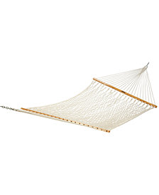 Single Original Cotton Rope Hammock, Quick Ship