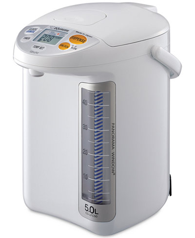 Zojirushi CD-LFC50WA 5L Panorama Window® Micom Boiler & Warmer