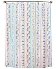 Dena Lily Stripe Shower Curtain