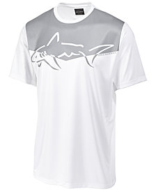 Greg Norman For Tasso Elba Men's Graphic Print Performance Sun Protection T-Shirt