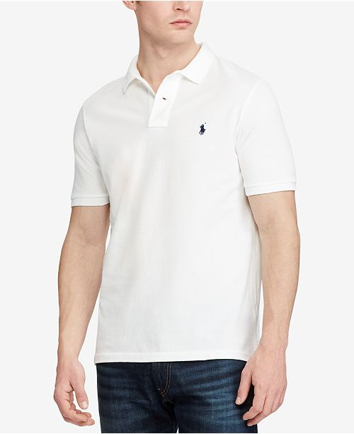 53d209914dede Polo Ralph Lauren Men s Classic Fit Mesh Polo   Reviews - Polos ...
