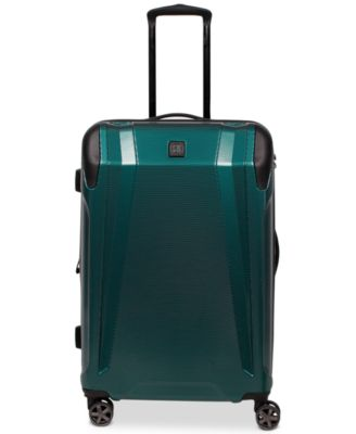 """CLOSEOUT! Apex 25"""" Expandable Hardside Spinner Suitcase, Created for Macy's"""