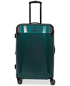 "CLOSEOUT! Revo Apex 25"" Expandable Hardside Spinner Suitcase, Created for Macy's"
