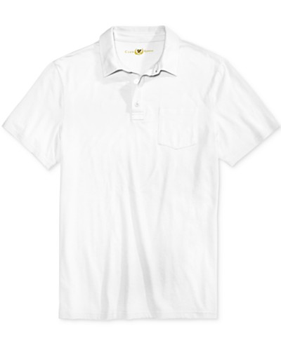 Club Room Men's Jersey Knit Heathered Polo, Created for Macy's