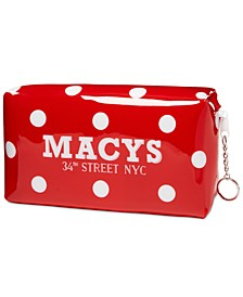 Macy's Polka Dot Makeup Bag, Created for Macy's