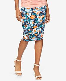 Isabella Oliver Maternity Printed Pencil Skirt