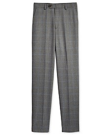 Lauren Ralph Lauren Husky Windowpane Pants, Big Boys