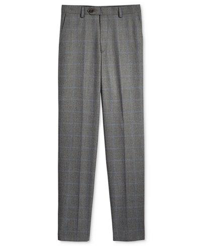 Lauren Ralph Lauren Husky Windowpane Pants, Big Boys
