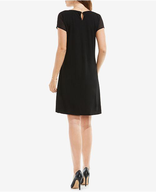4a805248e42a Vince Camuto Illusion T-Shirt Dress & Reviews - Dresses - Women - Macy's