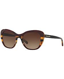 Coach Sunglasses, HC8204 52