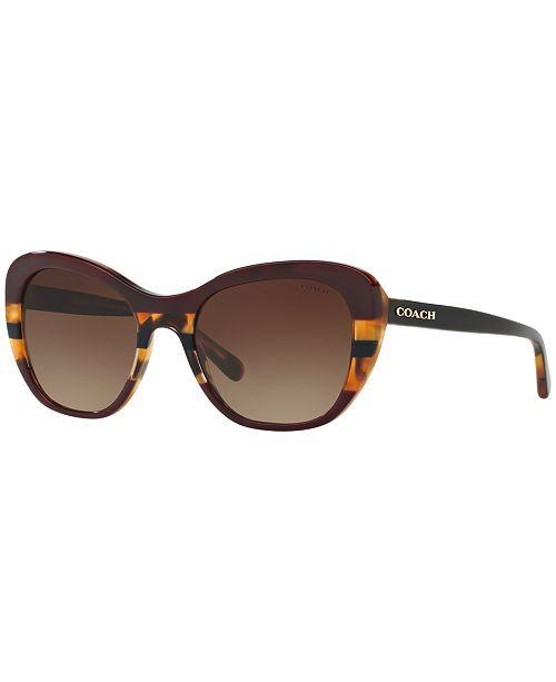 f4ff17c857e1 COACH Sunglasses, HC8204 52 & Reviews - Sunglasses by Sunglass Hut ...