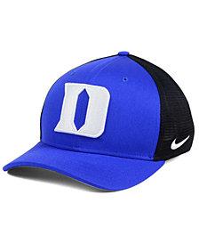 Nike Duke Blue Devils Aero Bill Mesh Swooshflex Cap