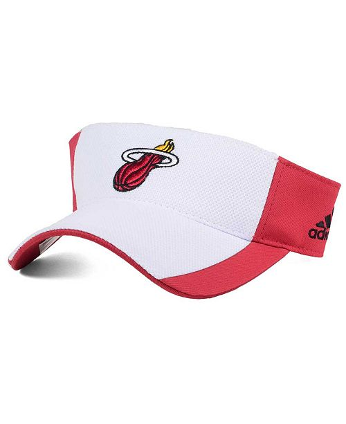 adidas Miami Heat Train Me Visor