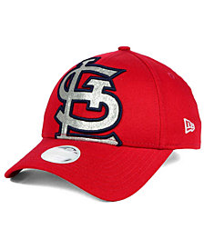 New Era Women's St. Louis Cardinals Glitter Glam 9FORTY Strapback Cap