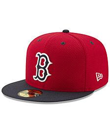New Era Boston Red Sox Batting Practice Diamond Era 59FIFTY Cap