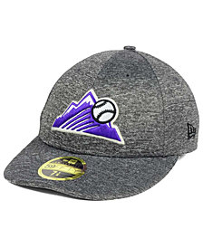 New Era Colorado Rockies Shadowed Low Profile 59FIFTY Cap